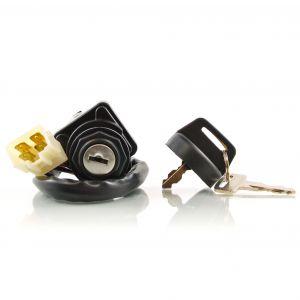 Two Position Ignition Key Switch For Polaris Big Boss / Scrambler / Sportsman Magnum Xplorer 400 425 500 1996-1999