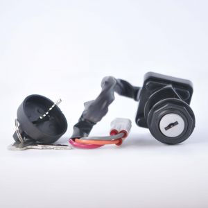 Three Position Ignition Key Switch For Arctic Cat DVX 400 Kawasaki KFX 400 Suzuki LTZ 400 2005-2008