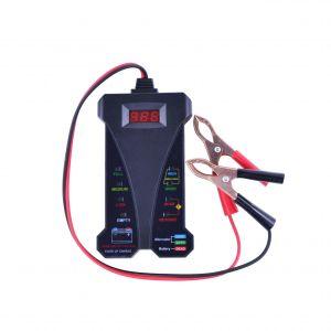 Universal 12V Digital Battery Tester / Charging System Analyzer